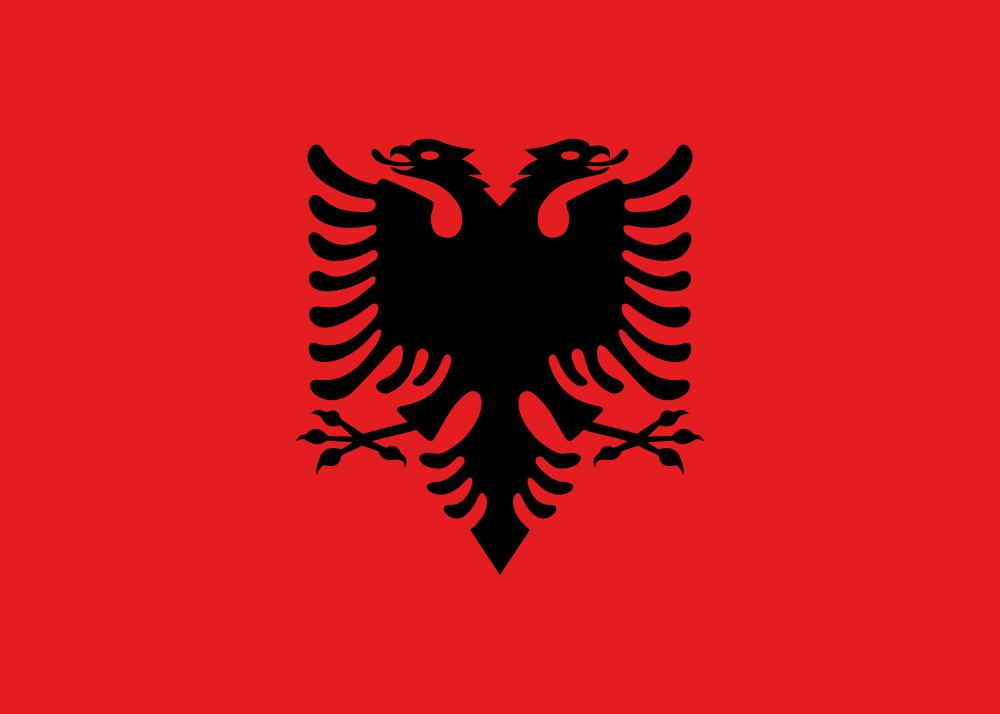 Албания Флаг Албании