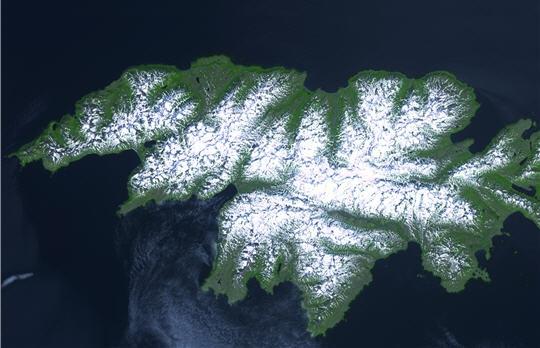 Остров Атту Алеутские острова KL7NWR