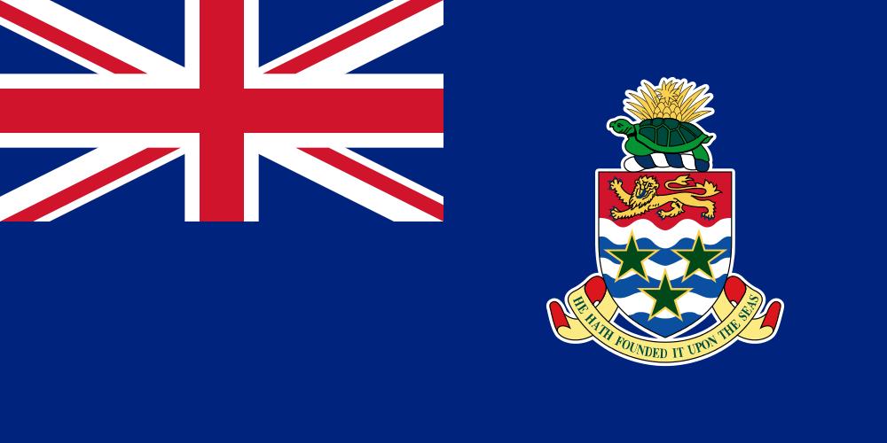 Каймановы острова Флаг Каймановых островов ZF2NF