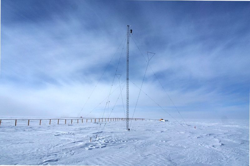 Станция Конкордия Антарктида IA/IZ3SUS Антенны