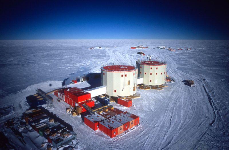 Станция Конкордия Антарктида IA/IZ3SUS DX Новости