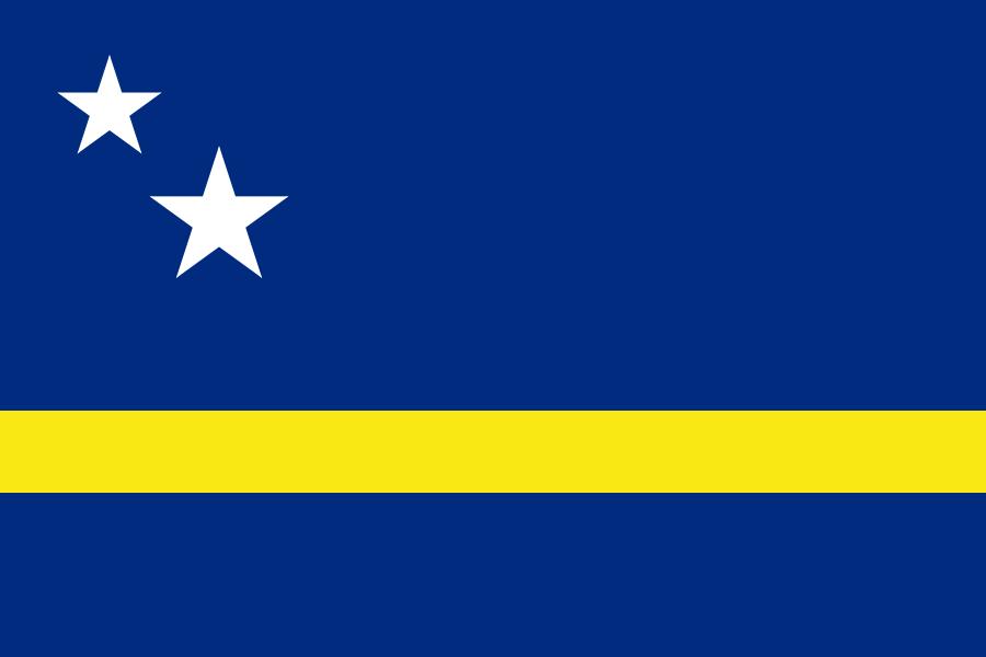 Остров Кюрасао Флаг Кюрасао