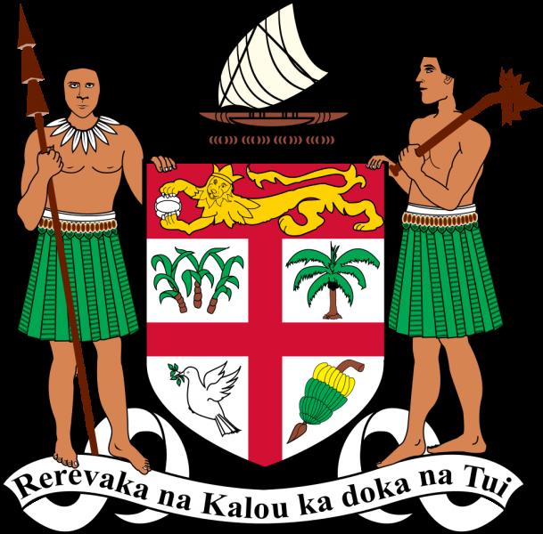 Фиджи Герб Республики Фиджи 3D2ML
