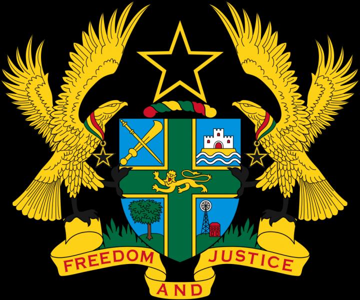 Гана Герб Республики Гана 9G5ZZ