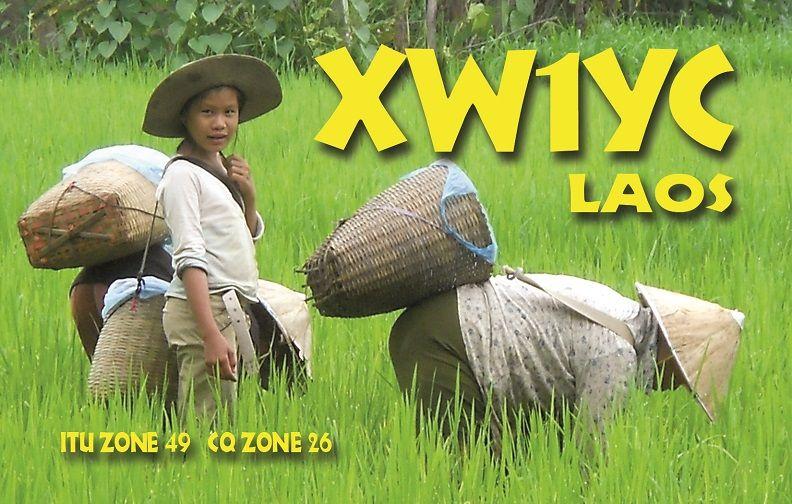 Лаос XW1YC