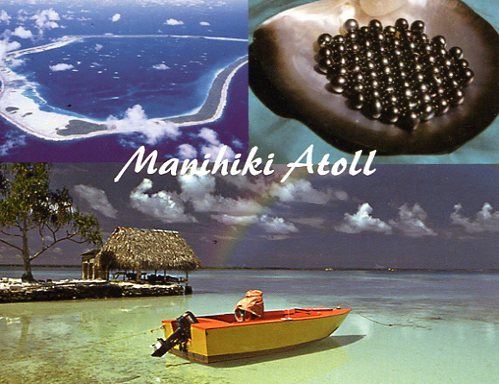 Manihiki Island North Cook Islands E51M