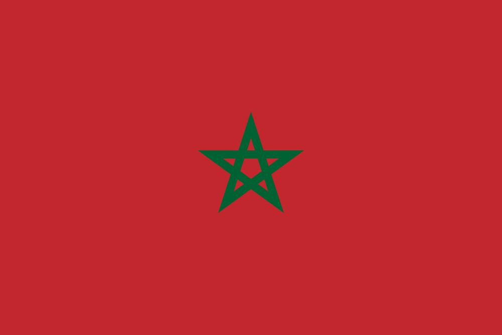 Марокко Флаг Марокко