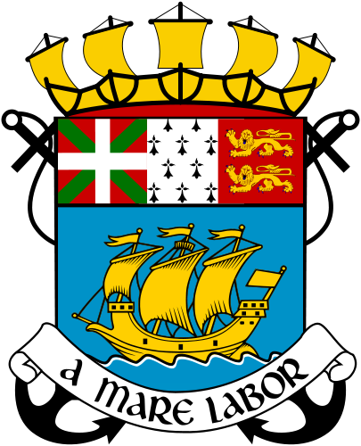 Miquelon Island Saint Pierre and Miquelon Coat of Arms