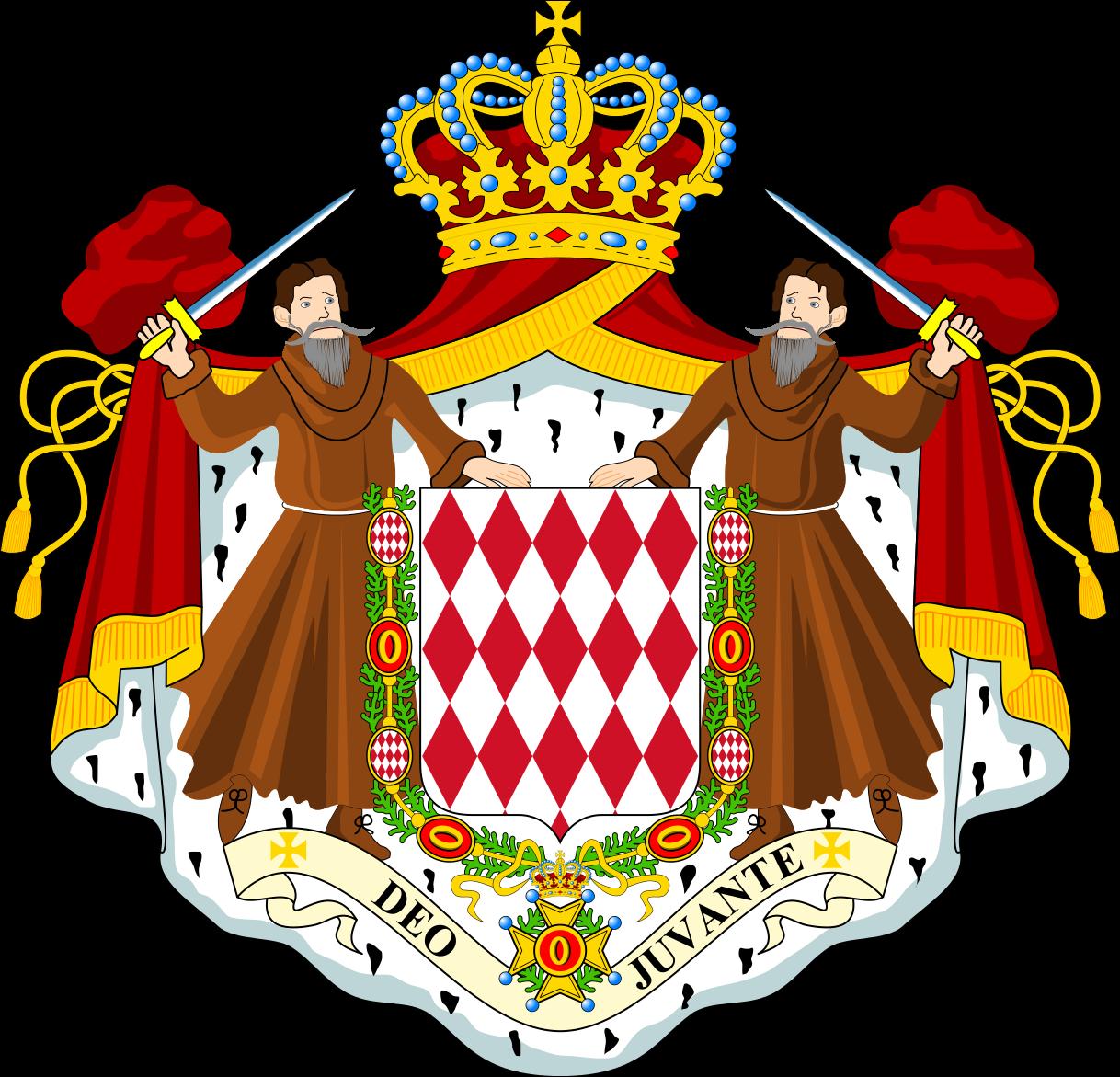 Монако Герб Монако 3A/I2GPT