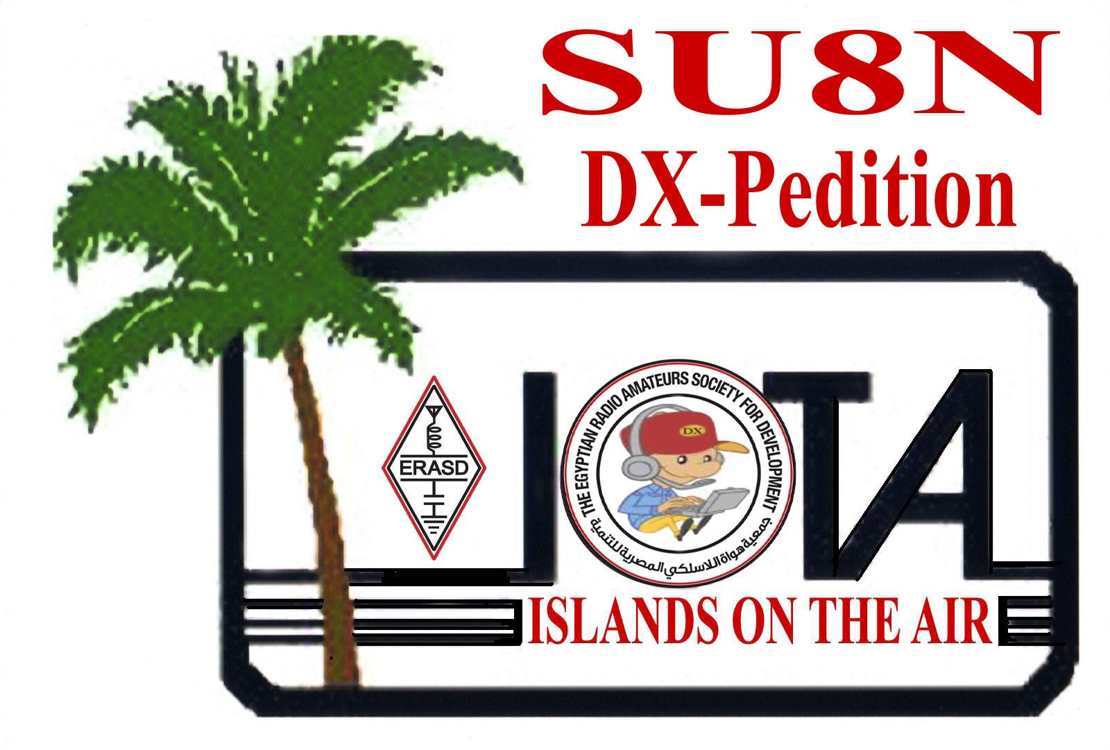 Nelsons Island SU8N DX News