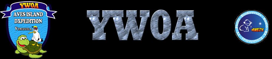 Остров Авес YW0A Логотип