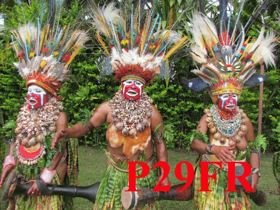 Папуа Новая Гвинея P29FR QSL