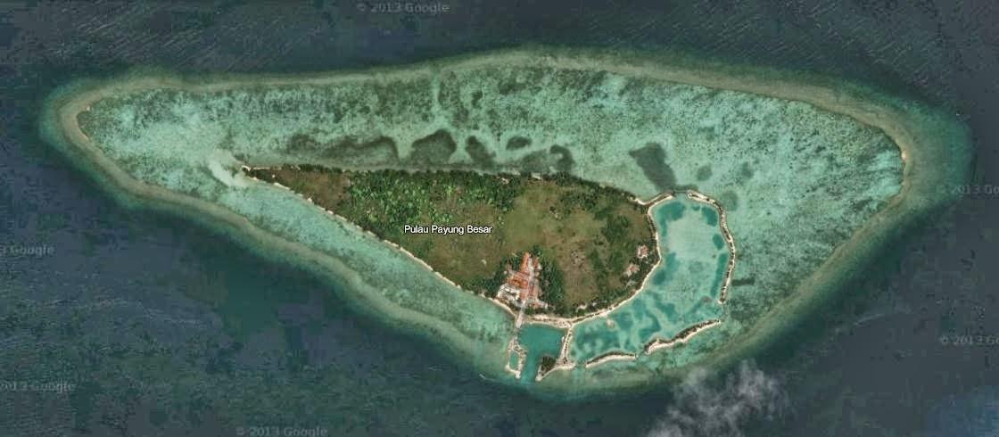 Indahnya Pulau Payung ....