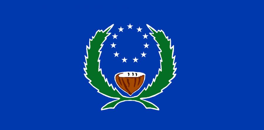 Остров Понпеи Флаг острова Понпеи V650XG