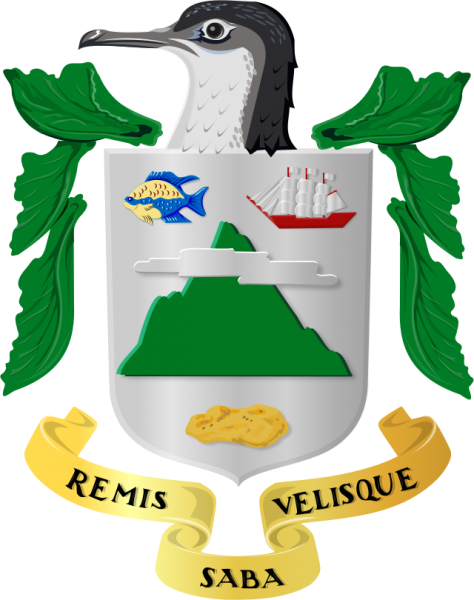 Saba Island Coat of Arms