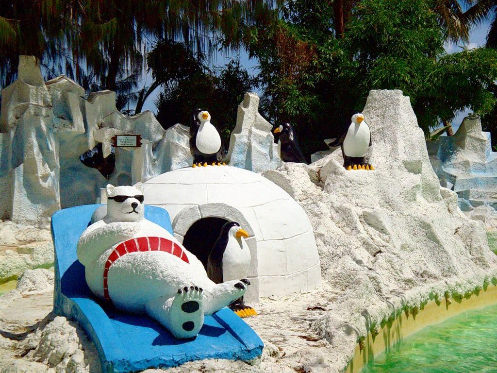 Остров Сайпан AH0YL Туристические достопримечательности