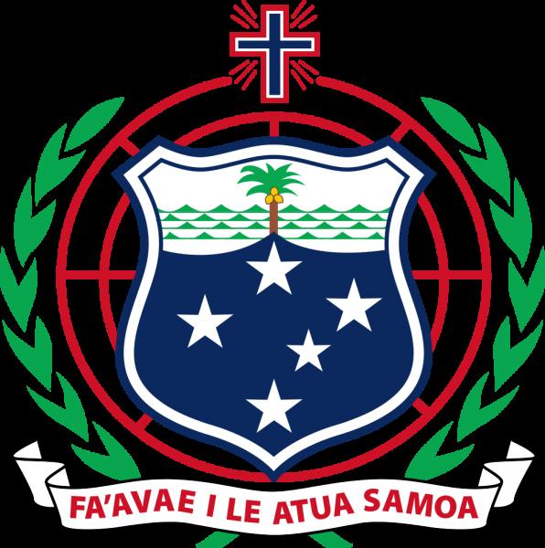 Самоа Герб Самоа 5W0ML