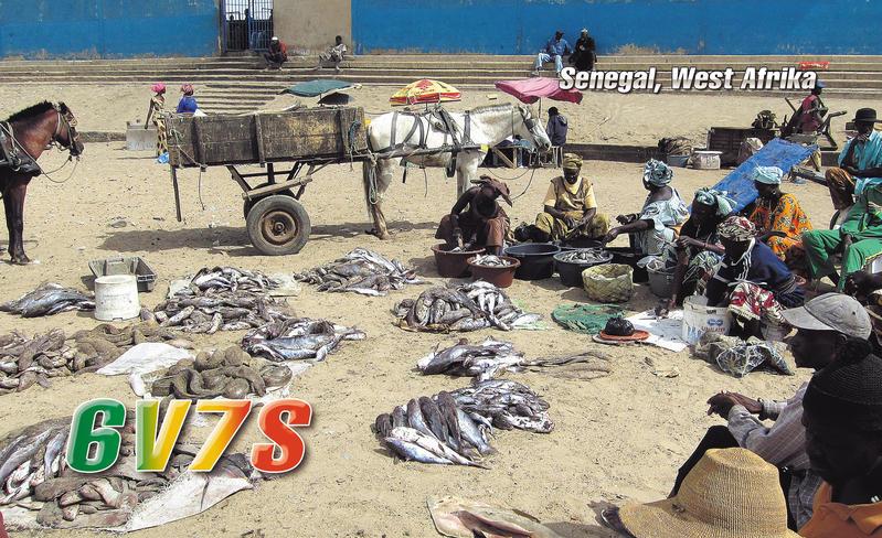 Сенегал 6V7S 2013 DX Новости