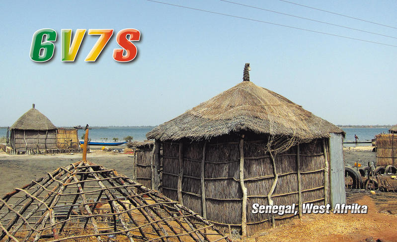 Сенегал 6V7S 2013 QSL 6