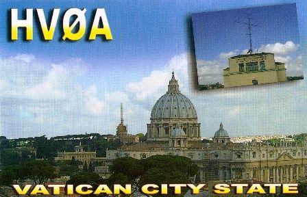 Vatikan HV0A QSL