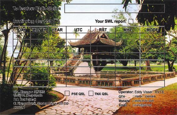 Вьетнам 3W1T QSL DX Новости