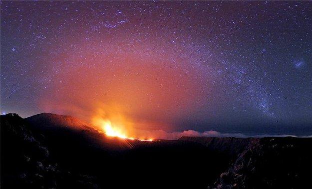 Вулкан Фурнез Остров Реюнион TO1PF