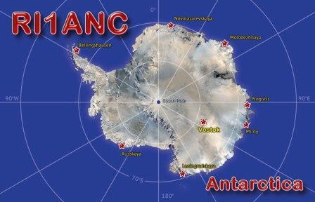 Vostok Station Antarctica RI1ANC