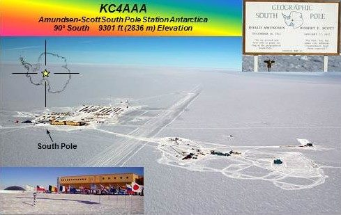 Amundset Scott South Pole Station KC4AAA DX News