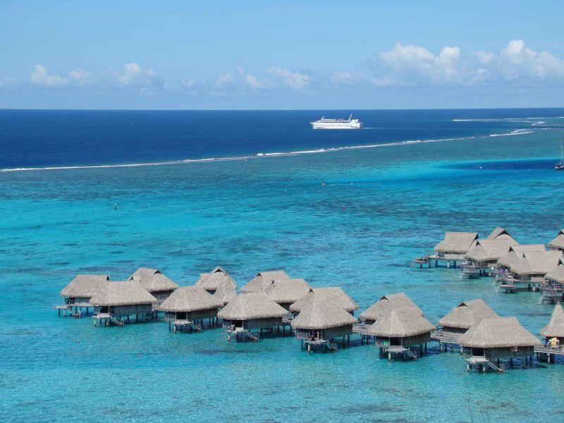 Французская Полинезия FO/KO6KO Остров Муреа Туристические достопримечательности