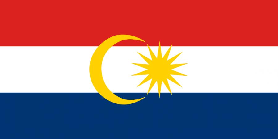 Флаг острова Лабуан
