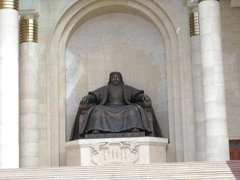 Монголия JT1NOC Чингиз Хан